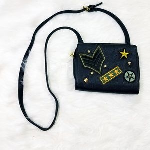 Steve Madden Army Patch Crossbody Purse
